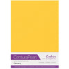Crafter's Companion Centura Pearl 10 Sheet Card Pack - Canary