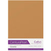 Crafter's Companion Centura Pearl 10 Sheet Card Pack - Caramel