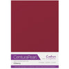 Crafter's Companion Centura Pearl 10 Sheet Card Pack - Cherry