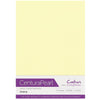 Crafter's Companion Centura Pearl 10 Sheet Card Pack - Ivory