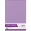 Crafter's Companion Centura Pearl 10 Sheet Card Pack - Lilac