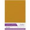 Crafter's Companion Centura Pearl 10 Sheet Card Pack - Old Gold