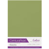 Crafter's Companion Centura Pearl 10 Sheet Card Pack - Pistachio