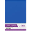 Crafter's Companion Centura Pearl 10 Sheet Card Pack - Royal Blue