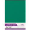 Crafter's Companion Centura Pearl 10 Sheet Card Pack - Xmas Green