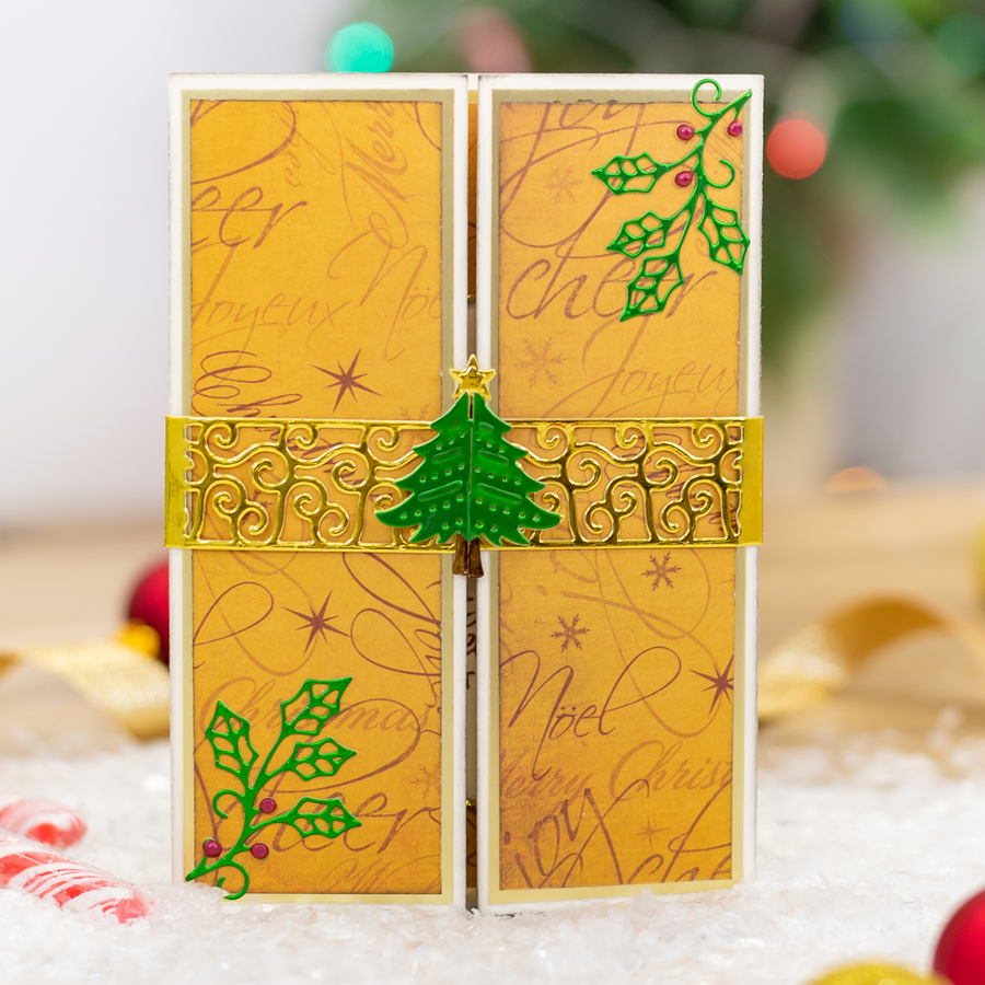Gemini Die by Crafters Companion - Elements - O' Christmas Tree