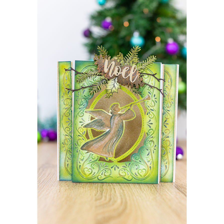 Gemini by Crafters Companion - Cut and Emboss Folder - Christmas Angel