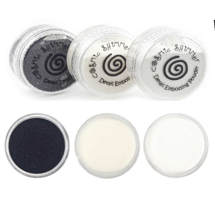 Cosmic Shimmer - Detail Embossing Powder Trio