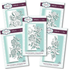 Paper Cuts Climbing Flowers Edger Dies - 5 Die Bundle