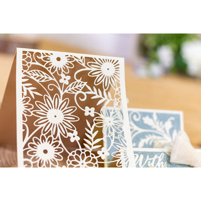 Gemini Die by Crafters Companion - A6 Create a Card - Country Garden
