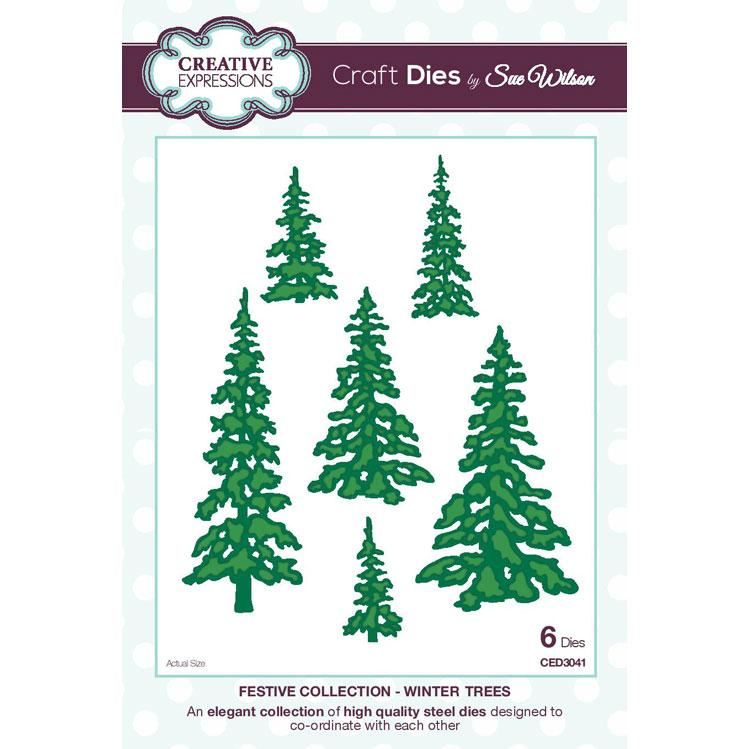 Craft Dies by Sue Wilson - Festive Collection - Winter Trees
