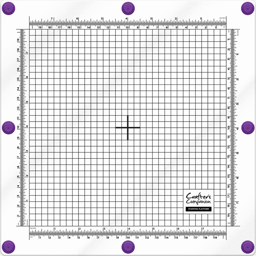 Crafters Companion - Stamping Platform - 8 x 8