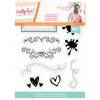 Sara Signature Collection by Crafters Companion - Crafty Fun - A6 Acrylic Stamp - Accents & Frames