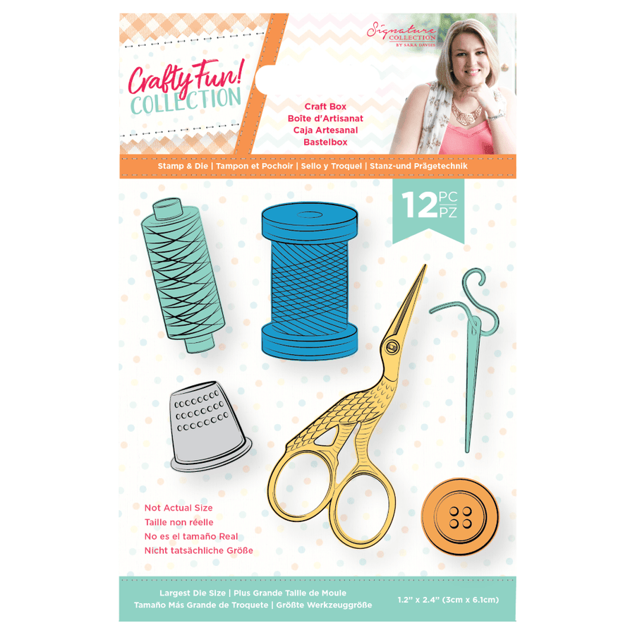 Sara Signature Collection by Crafters Companion - Crafty Fun - Stamp & Die - Craft Box