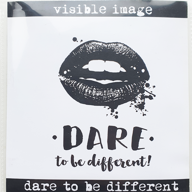 Visible Image Stamp - Dare To Be Different