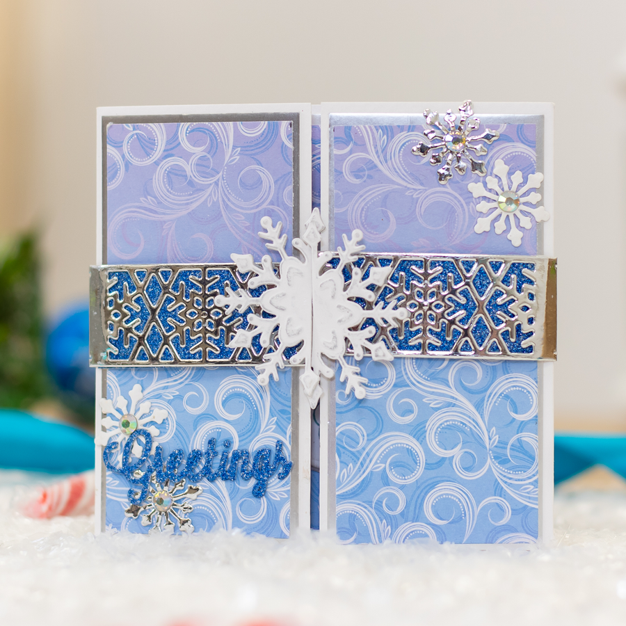 Gemini Die by Crafters Companion - Elements - Decorative Snowflake