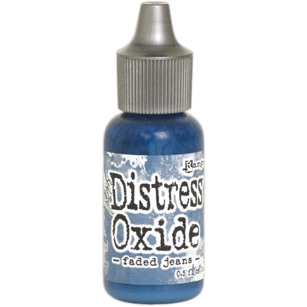 Tim Holtz Ranger Distress Oxide Re-inker Faded Jeans