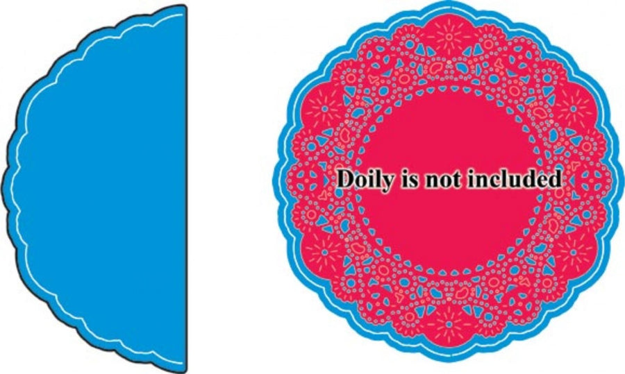 Cheery Lynn Designs Doily Dies - French Pastry Doily Angel Wing (DL102A)
