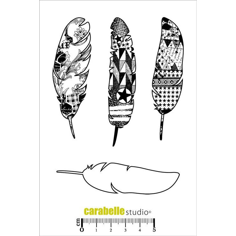Carabelle Studio Stamps - Plumes