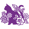 Gemini Die by Crafters Companion - Elements - Silhouette Cat