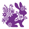 Gemini Die by Crafters Companion - Elements - Silhouette Rabbit