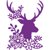 Gemini Die by Crafters Companion - Elements - Silhouette Stag