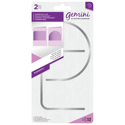 Gemini by Crafters Companion Die - Elements - Window Arches
