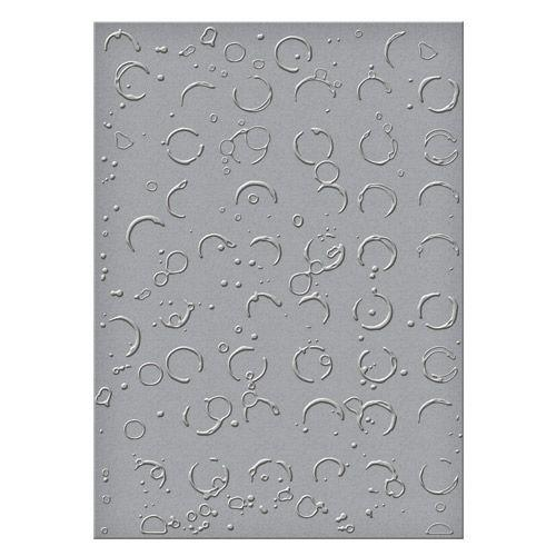 Embossing Folders Donna Salazar Designs Splattered Circles