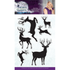 Sara Signature Collection - Enchanted Christmas - Acrylic Stamp - Simply Stags