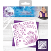 Sara Signature Collection - Enchanted Forest - Stencil - Flowers and Vines