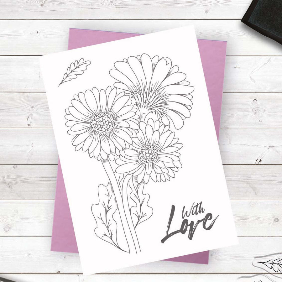 Crafters Companion - Photopolymer Stamp - Fresh Florals