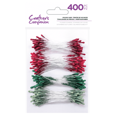 Crafters Companion - Flower Stamens - Holiday Hues (400PC)