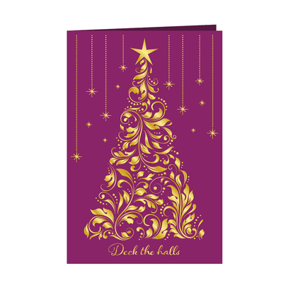 Gemini by Crafters Companion - Foil Stamp Die - Create-a-Card - Deck the Halls