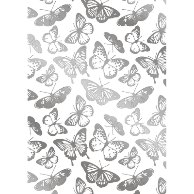 Gemini Foil Stamp Die - Elements - Beautiful Butterflies Background