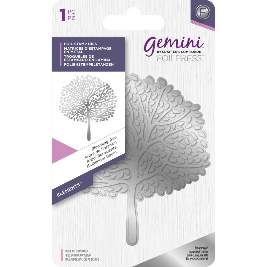 Gemini Foil Stamp Die - Elements - Blooming Tree