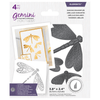 Gemini Foil Stamp 'N' Cut Die - Elements - Dancing Dragonflies