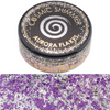 Cosmic Shimmer Aurora Flakes - Frosted Violet - 50ml