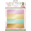 Sara Signature Collection by Crafters Companion - Garden of Love - A4 Luxury Mirror Card