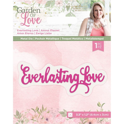 Sara Signature Collection by Crafters Companion - Garden of Love - Metal Die - Everlasting Love
