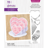 Gemini - Create A Card - Triple Easel Hearts
