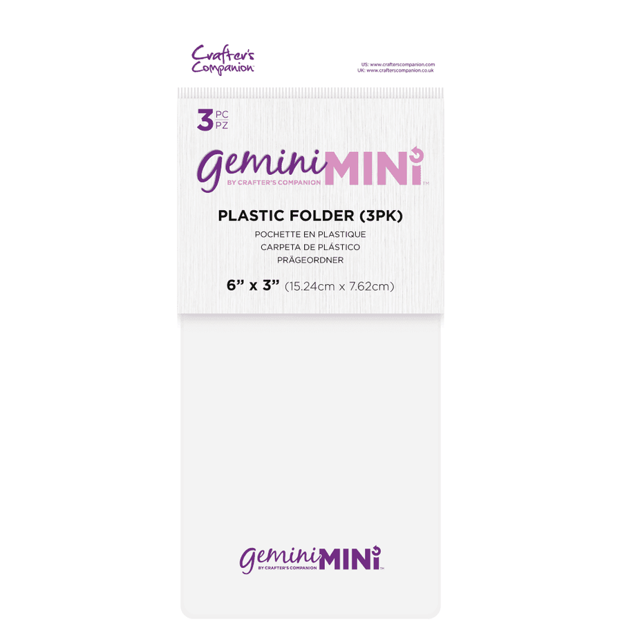 Gemini Mini Accessories - Plastic Folder - 3 pack