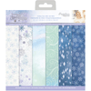 "Sara Signature Collection - Glittering Snowflakes - 12x12"" Vellum Pad"