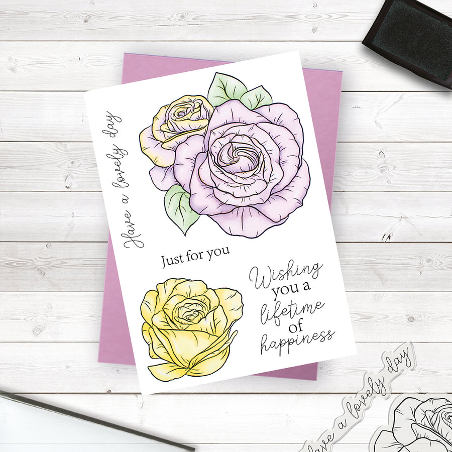 Crafters Companion Stamp - Have a Lovely Day