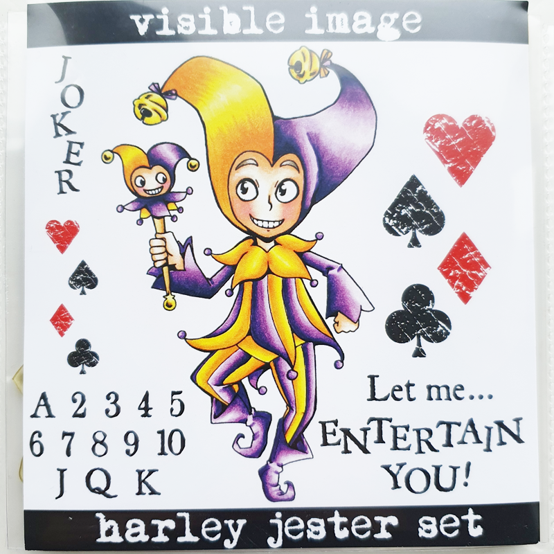 Visible Image Stamp - Harley Jester Set