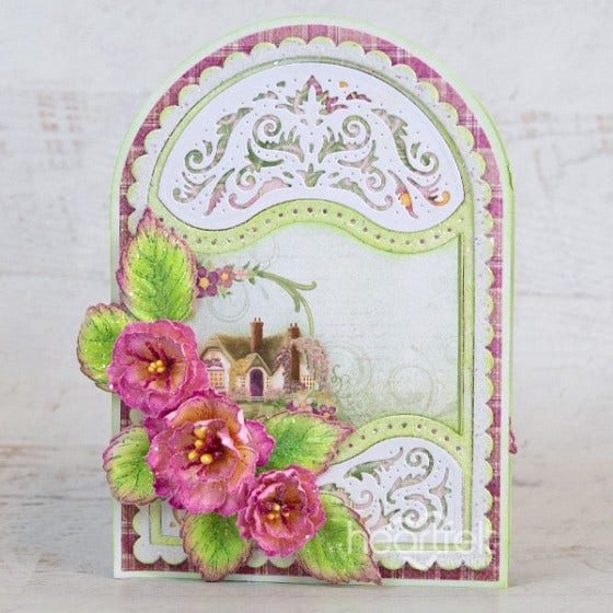 Heartfelt Creations - Scalloped Flourish Gateway Die -  HCD2-7325