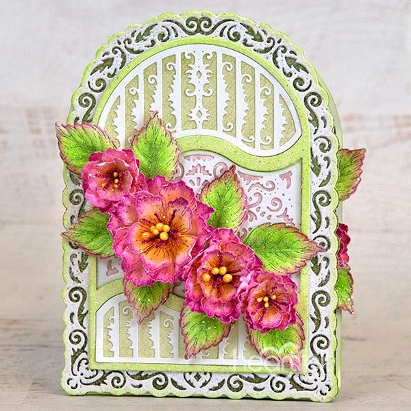 Heartfelt Creations - Ornate Flourish Gateway Die - HCD2-7326