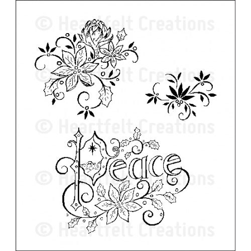 Heartfelt Creations Stamp - Peaceful Night - HCPC-3553
