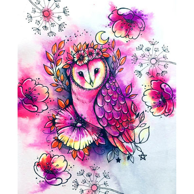 Pink Ink Designs Stamp - Midsummer Owl
