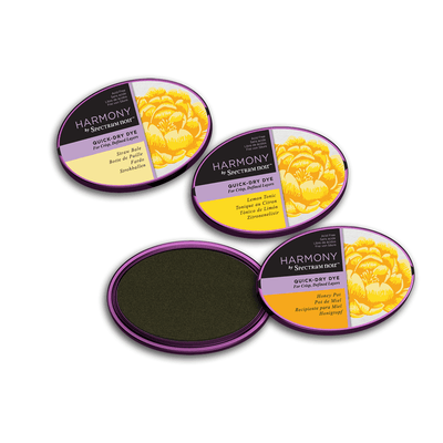 Spectrum Noir Inkpad - Harmony Quick-Dry Dye - 3 Pack - Summer Yellows