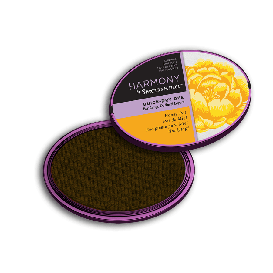 Spectrum Noir Inkpad - Harmony Quick-Dry Dye - Honey Pot